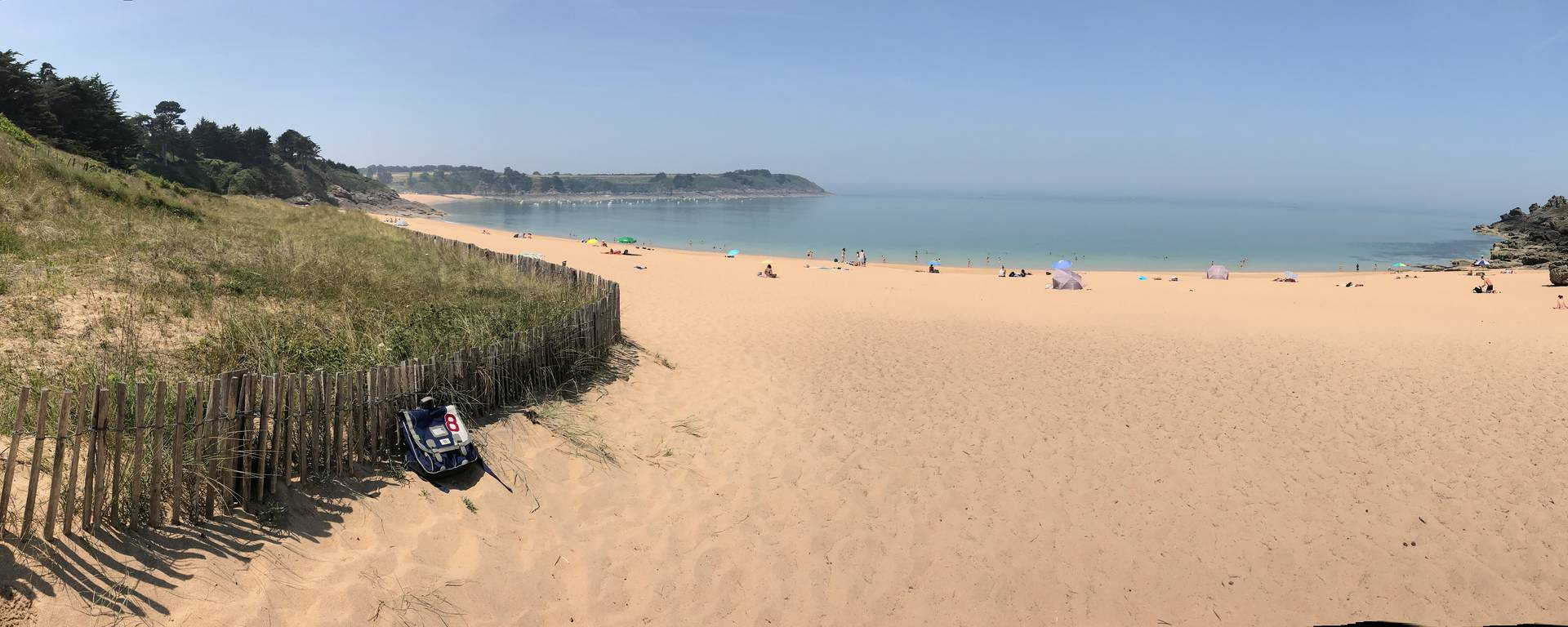 Plage de la Touesse in Saint-Coulomb
